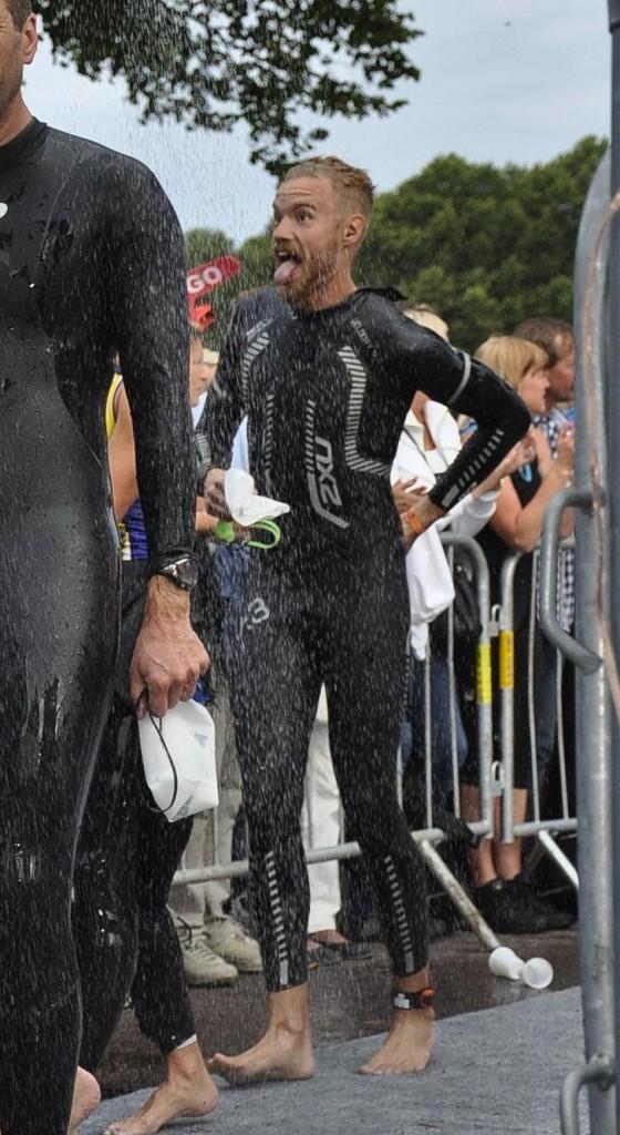 Ironman-våtdräkt