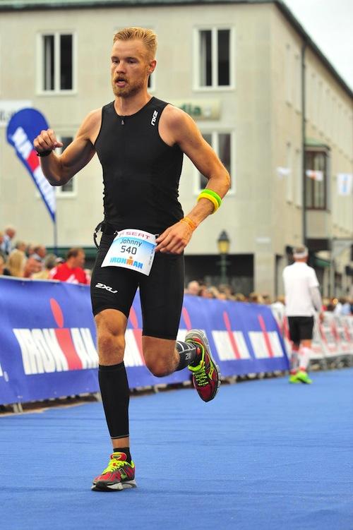 ironman-löpning