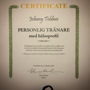 Personlig tränare -johnny